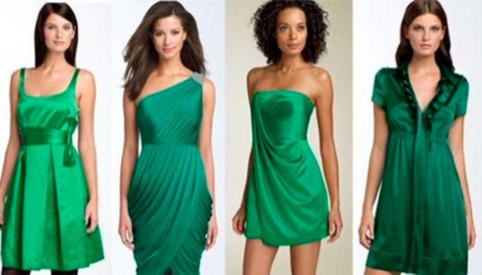 зеленая одежда